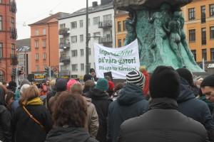 600 demonstranter på Möllan