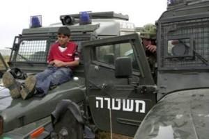 Palestinaka barn verkligen använda som mänskliga sködar