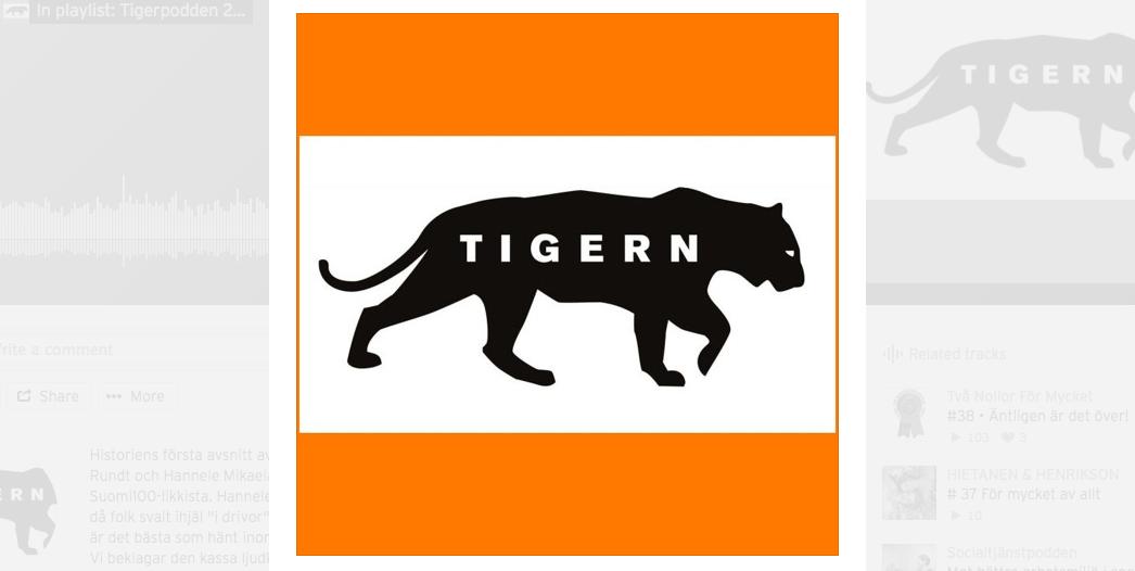 Tigerpodden: Välfärdsstaten, Språket och Mannen